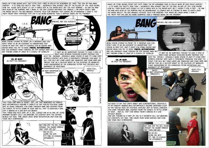 Комикс и коллаж в его основе