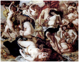 Bacchanalia - place of sin and lust