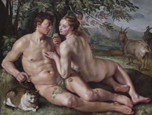 The fall of man_Hendrik Goltzius