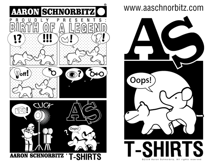 The origin of AS T-shirts