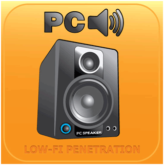 PC speaker album cover